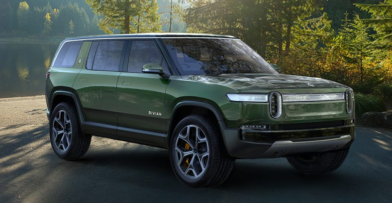 LOS ANGELES 2018: ELECTRIC SUV AND PICKUP AT RIVIAN